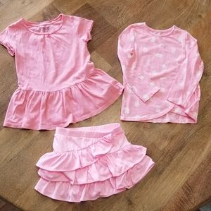 Pretty in pink lot, size 4t